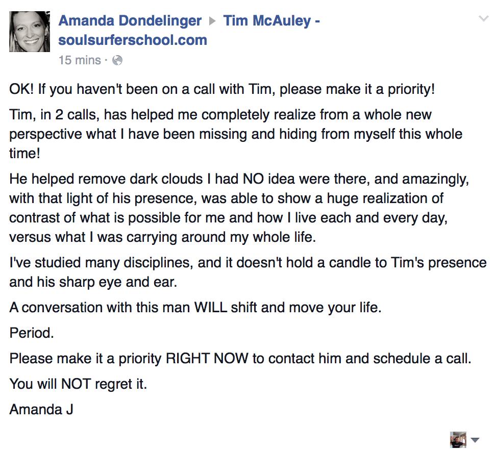 amanda's testimonial